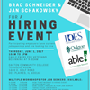 Hiring Event Flyer (Color)