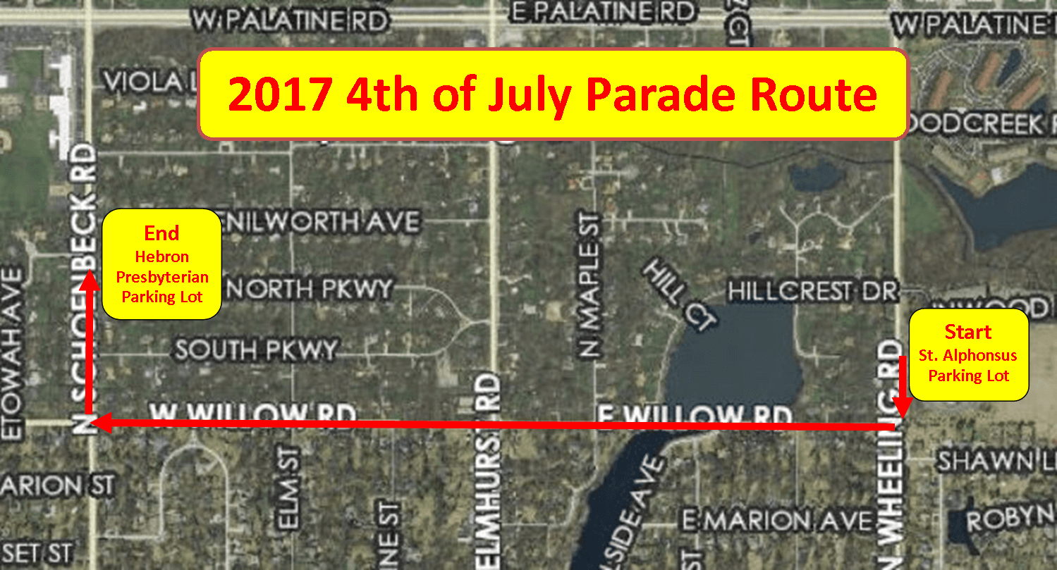 2017 Parade Route
