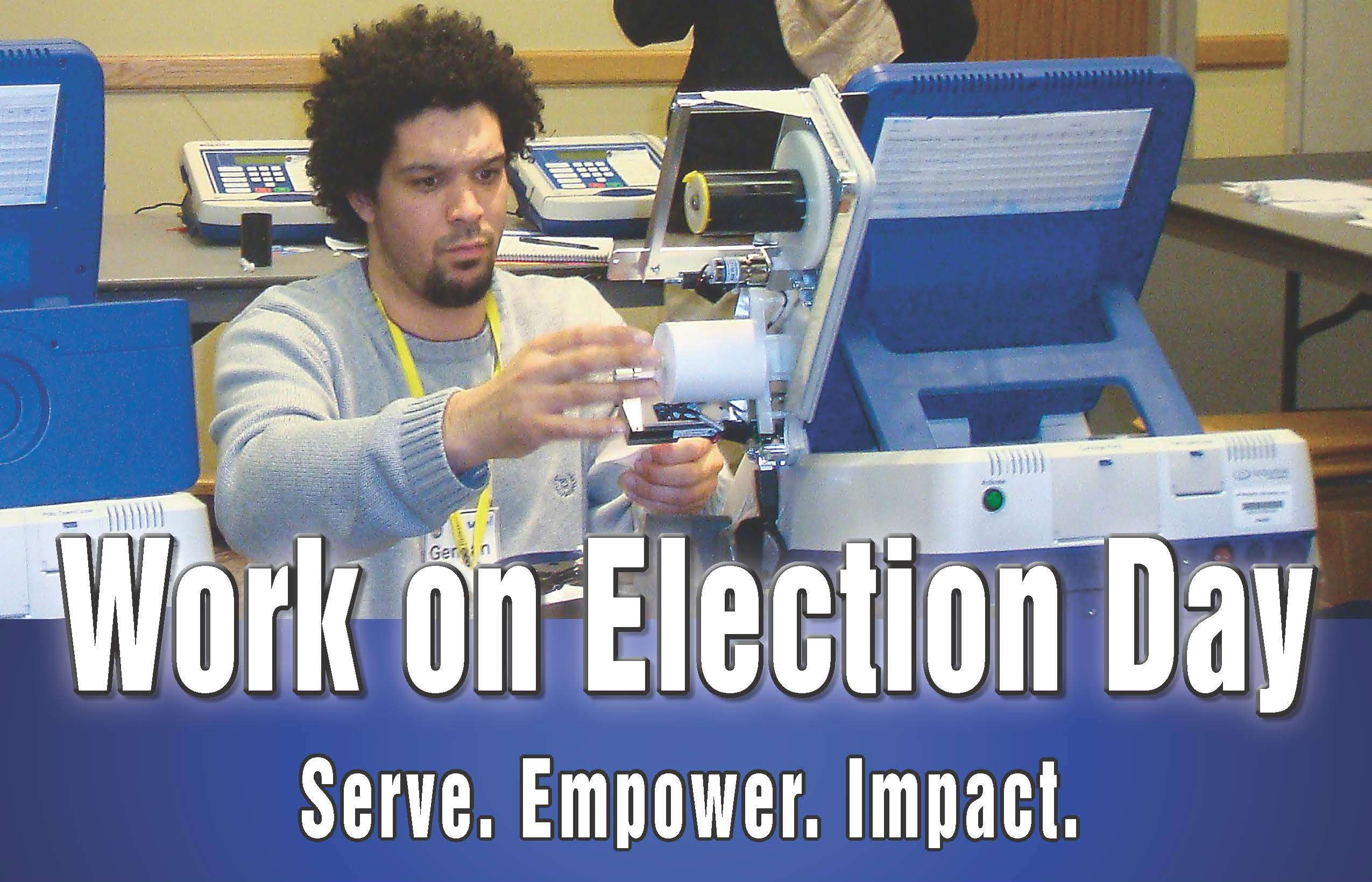 Work on Election Day