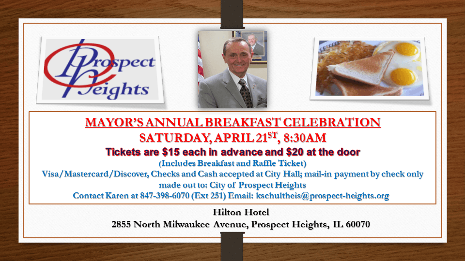 2018 Mayors Breakfast Flyer