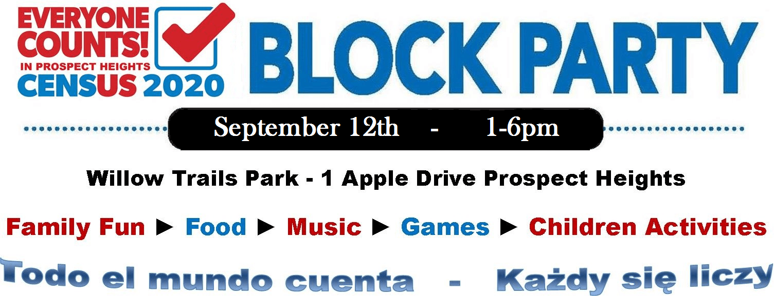 Block Party Banner - New Date
