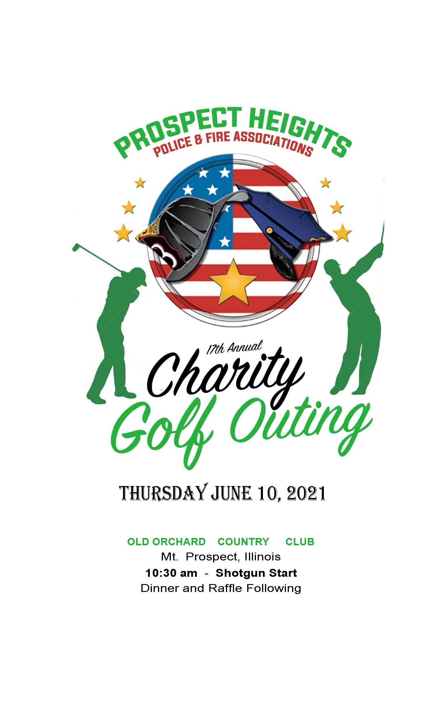 2021 Police-Fire Golf Outing Flyer
