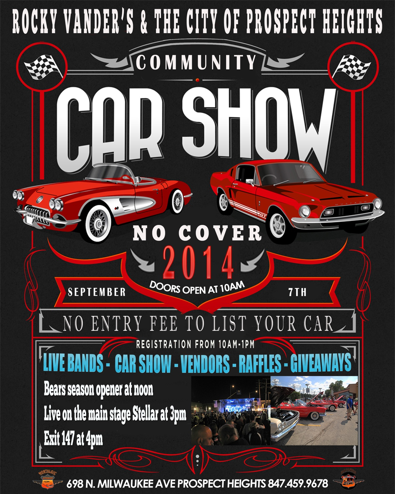Prospect Heights IL Official Website - Car show giveaways